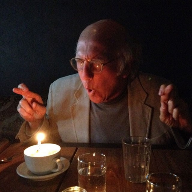 An insider's look into how Larry celebrates his birthday.