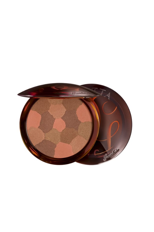 <strong>Dark Skin</strong><br><br> A deep brown colour with a warm shimmer will give your skin a glowing finish.<br><br> <em>Terracotta Light Bronzer in Sun Brunettes, $79, Guerlain, 02 9695 5614 </em>