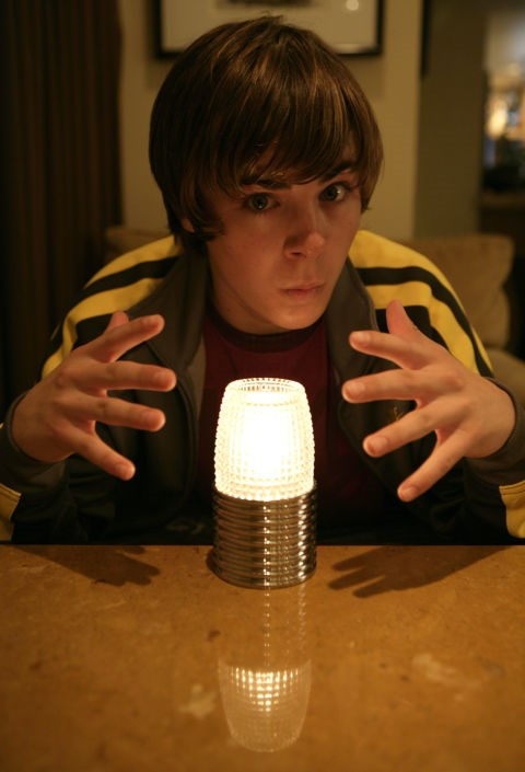 SEPTEMBER 30, 2005 But he's just 17! Our boy is still a bit of a goofball whose future is looking VERY bright (see what I did there?) GETTY