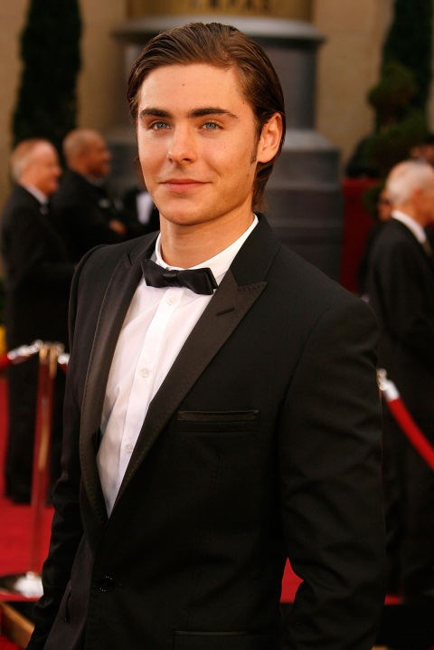 FEBRUARY 22, 2009 But he sure does clean up well with that completely gelled hair and suit. GETTY
