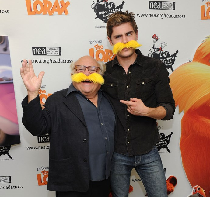 MARCH 2, 2012 And he's still got a sense of humor! Because goofball Zac never died; he just got better. GETTY