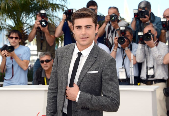MAY 24, 2012 Now he's doing major film festivals like Cannes for indie film Paperboy. Oh, nothing to see here, just Zac working it like your classic Hollywood heartthrob.