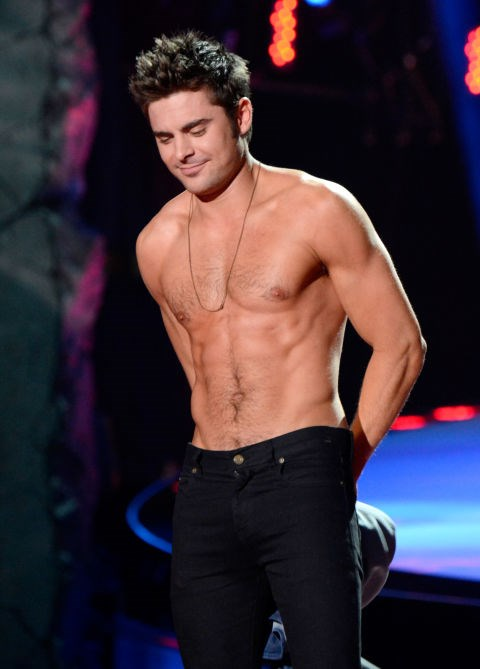 APRIL 13, 2014 Take a bow, Zac, take a bow. GETTY