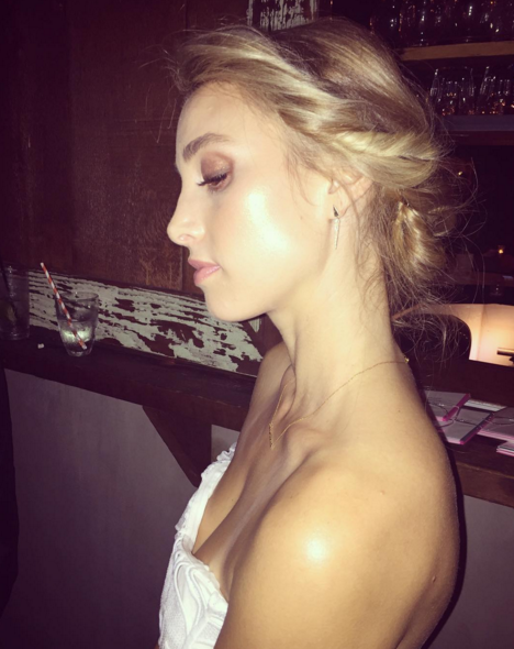 """Whitney Port has married her boyfriend of three years, Tim Rosenman, who was a producer on The Hills. <br><br>Port posted this pretty snap of herself to Instagram with the caption """"Mrs Rosenman"""" and some well-chosen emojis.<br> Whitney and Tim started dating in2012 and got engaged in November 2013. Congratulations, we can't wait to see more pics *insert cake emoji and love heart eyes emoji*"""