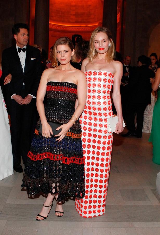 Kate Mara and Kate Bosworth both stun in Dior.