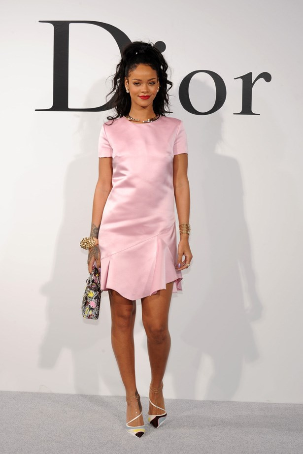 Rihanna is a front-row fave at all Dior shows.