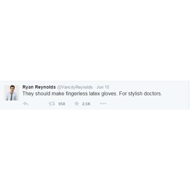Once again Ryan, CREEPY.