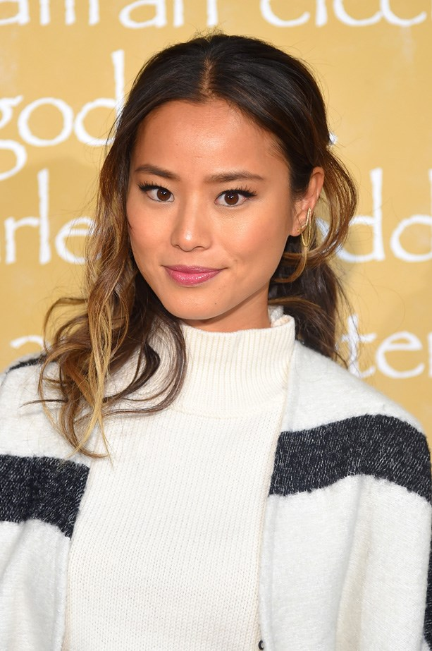 Jamie Chung doesn't just cook with coconut oil, she also swears by using it as a 10-minute hair treatment. Just make sure you rinse... Thoroughly.