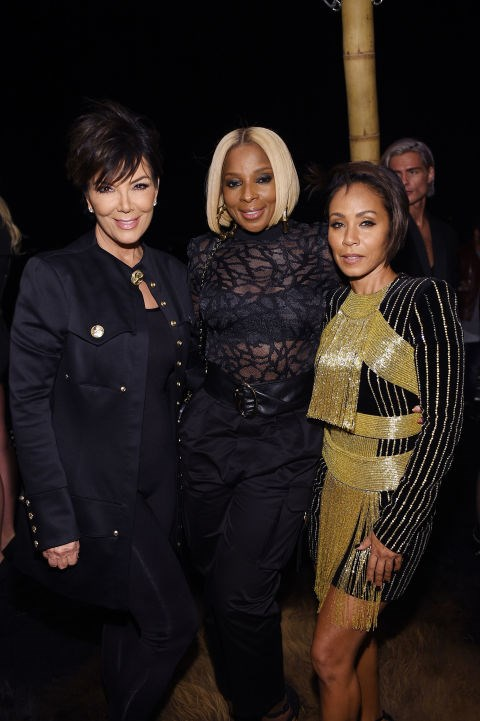 Kris Jenner, Mary J. Blige and Jada Pinkett Smith
