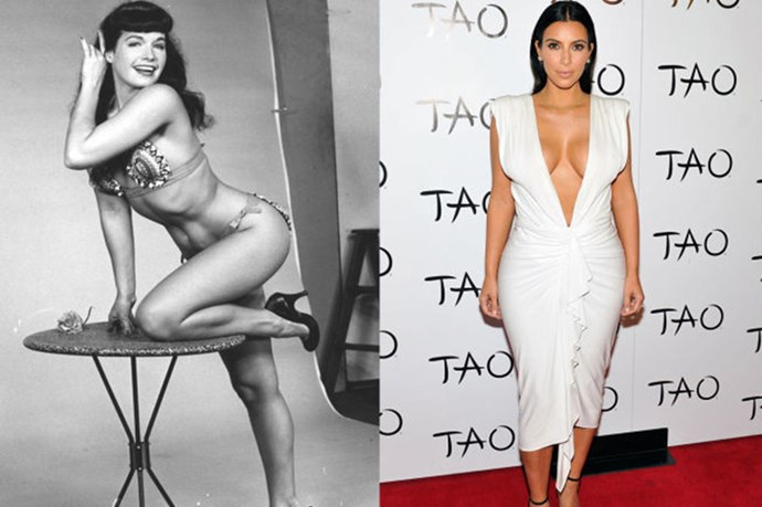 The Best Celebrity Hourglass Figures