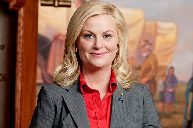 """Never underestimate the warm-hearted, ray of sunshine types like Parks and Recreation's Leslie Knope. <br>The public servant was always destined for world domination because she worked hard, believed in what she did and stood up for herself.<br> Also she had the kind of immense - and heartening! - self-belief to say this, <br> """"I am big enough to admit that I am often inspired by myself."""""""