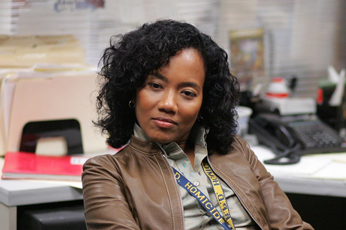 Working in a male dominated environment, as a police officer in the Baltimore-set cult series, The Wire, Kima Gregg was not having any of her colleagues - or perps - sh*t. She was tough, blunt, uncompromising, complex and did what's right.