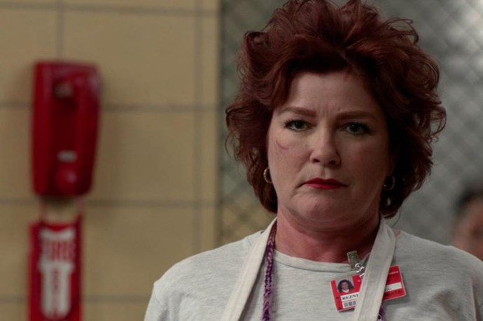 So prison isn't exactly a place where women have a lot of agency, but in a tough world it's Red who rules the roost in Orange is the New Black. While she's not exactly good, she's also got a strong sense of justice and a kind heart for the weaker in the flock. You DO NOT mess with Red.