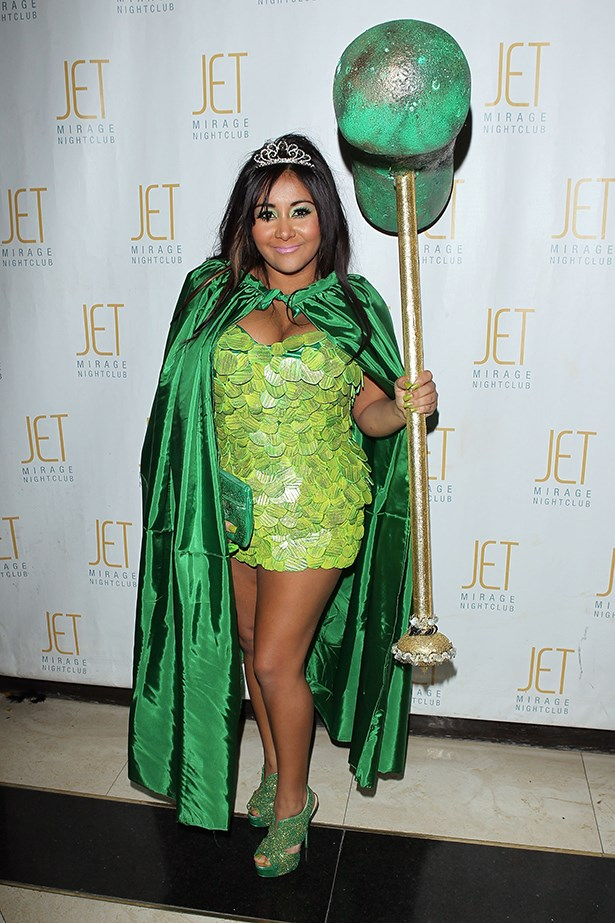 Snooki as ... we're not sure.
