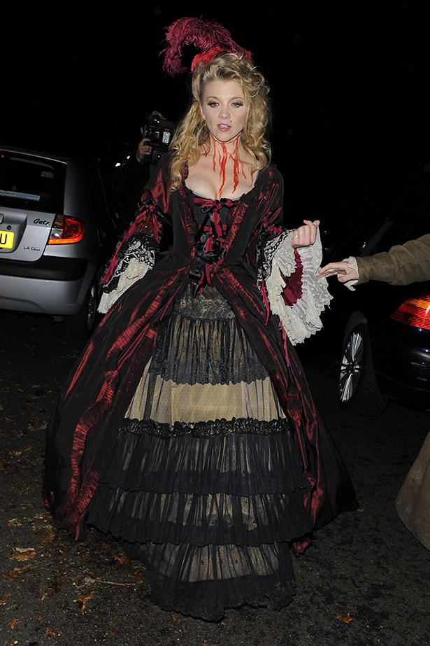 Natalie Dormer as a dead Victorian woman.