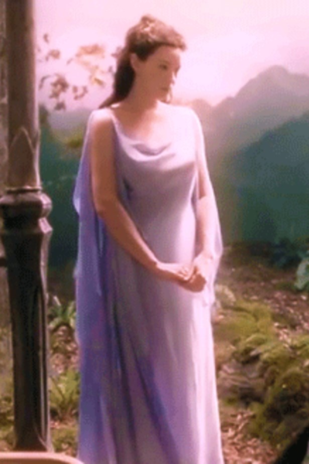 <em>The Lord of the Rings.</em> Liv Tyler wore a beautiful range of dresses in the Lord of the Rings trilogy, but this 'dream dress' has been hailed as the favourite.