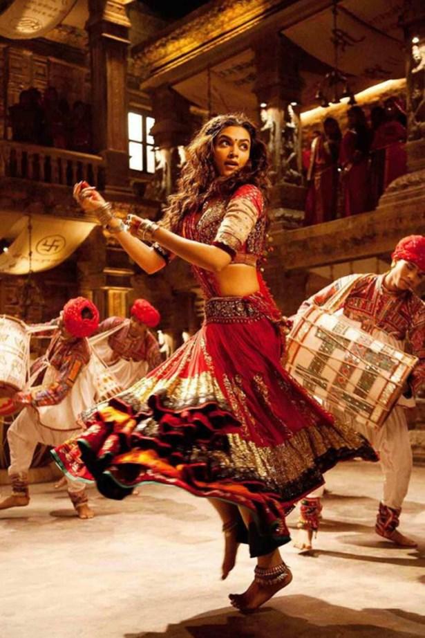 <em>Ram Leela.</em> Deepika Padukone in Goliyon Ki Raasleela Ram-Leela wore one of the most beautiful Lehengas in film history.