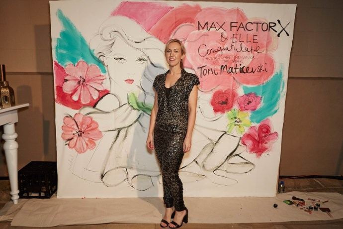 The beautiful Max Factor activation at the ELLE Style Awards.
