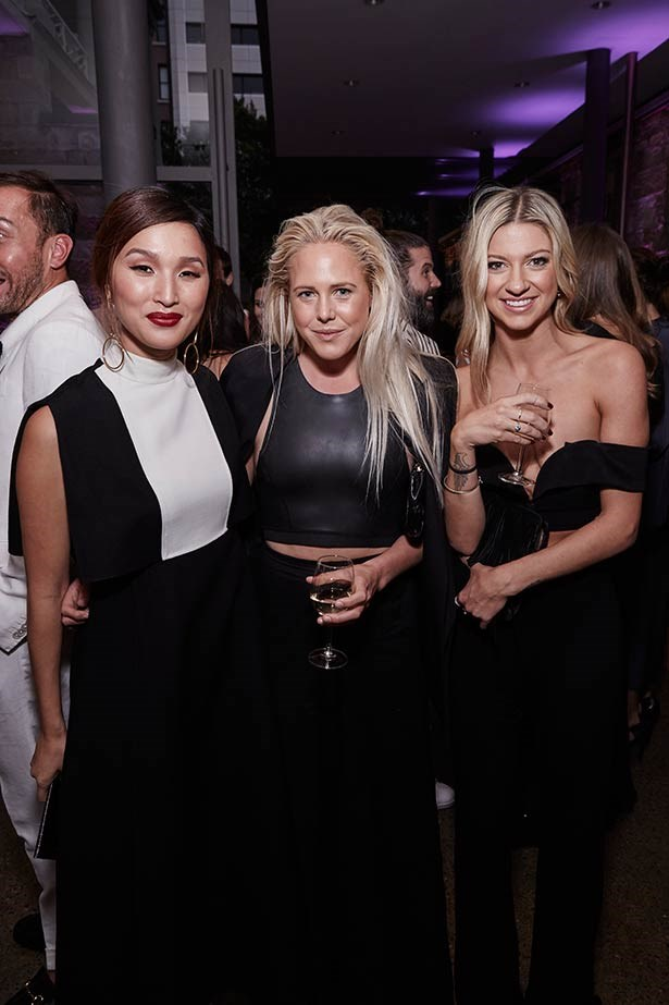 Nicole Warne (left) at the ELLE Style Awards