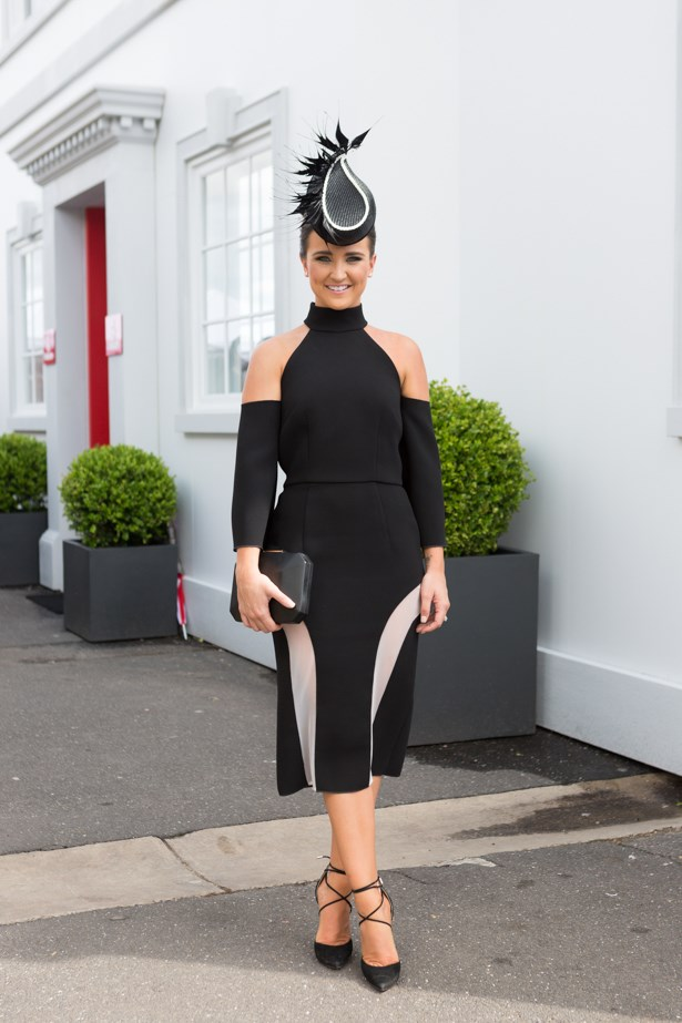 Name: Whitney Berry<br><br> Outfit: Yeojin Bae,Tracy Mckinnon millinery Race day: Derby Day 2015 <br><br> Location: Melbourne