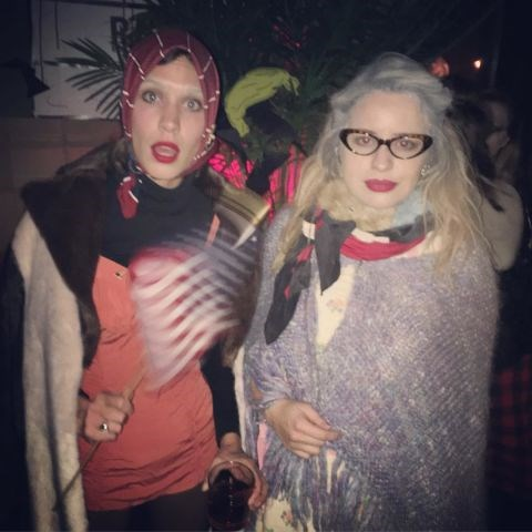 ALEXA CHUNG As Edie Bouvier Beale fromGrey Gardens. INSTAGRAM