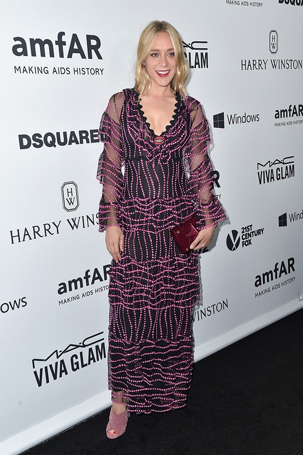 Chloe Sevigny attends the AmfAR Inspiration Gala in LA.