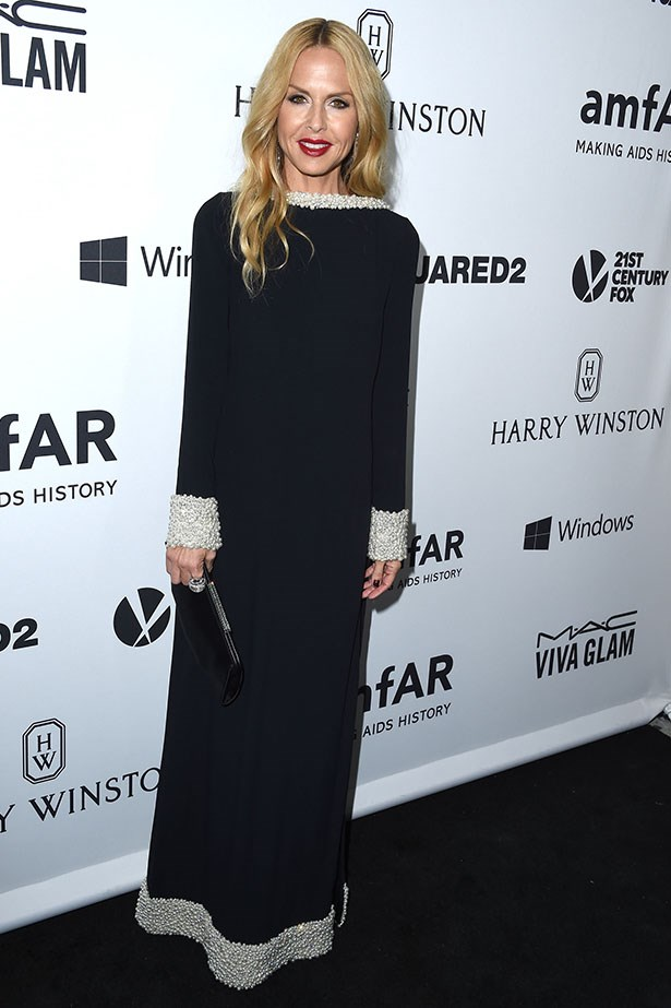 Rachel Zoe attends the AmfAR Inspiration Gala in LA.