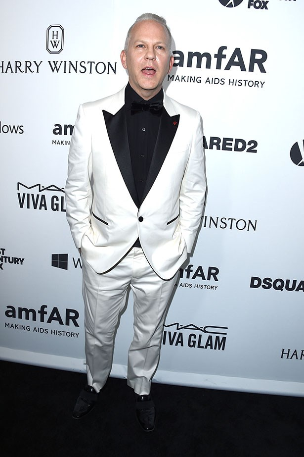 Ryan Murphy attends the AmfAR Inspiration Gala.