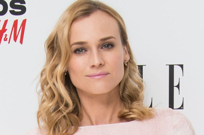 Diane Kruger's At-Home Hair Disaster