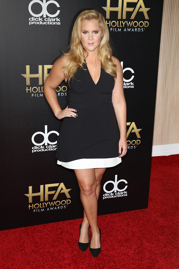 Amy Schumer arrives at the Hollywood Film Awards.
