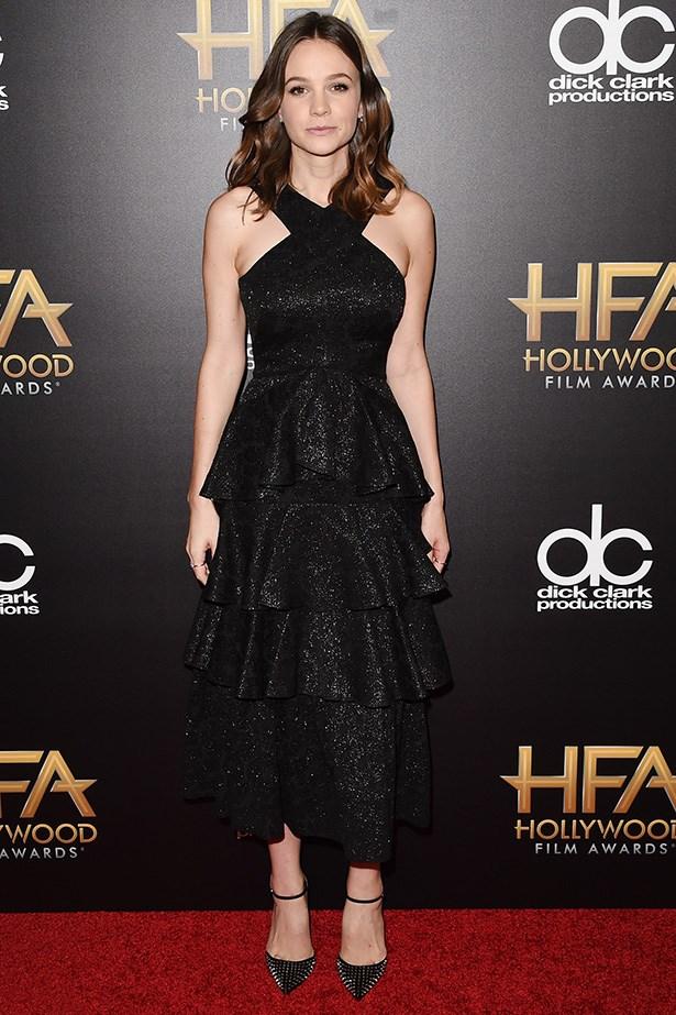 Carey Mulligan at the Hollywood Film Awards.