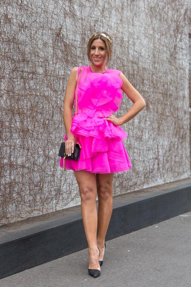 Name: Lana Wilkinson<br><br> Outfit: Alex Perry dress, ASOS headpiece, tony Bianco shoes and Saint Laurent clutch <br><br> Race day: Melbourne Cup 2015 <br><br> Location: Flemington, Melbourne<br><br>
