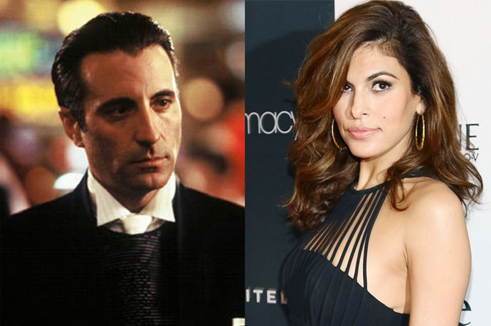 Eva Mendes would be a good replacement for the dark Andy Garcia, playing Teresa 'Terry' Benedict.
