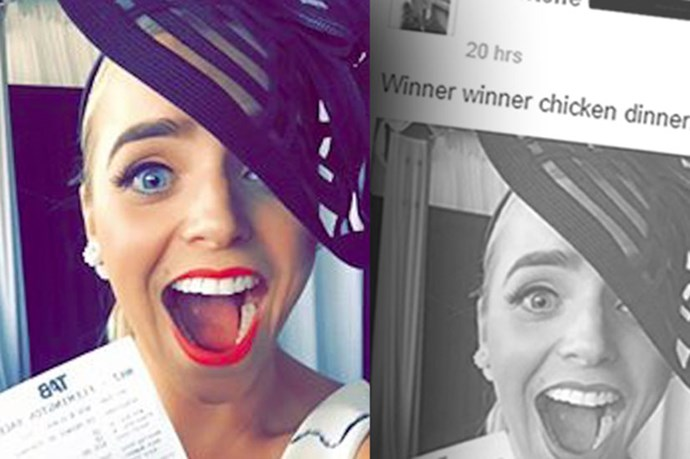 Woman Posts Winning Melbourne Cup Ticket To Facebook, Some Chump Claims It