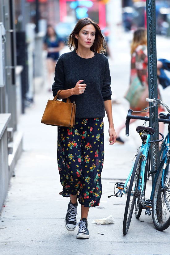 Alexa Chung in New York