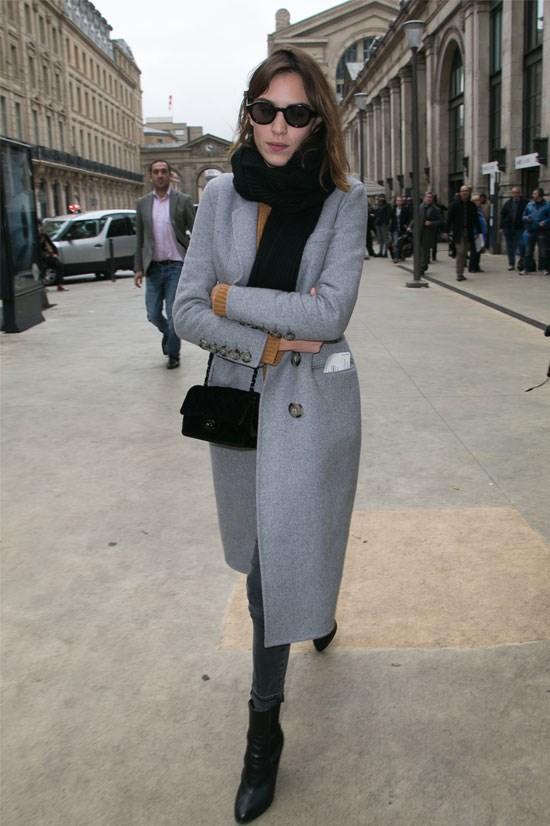 Alexa Chung in Paris