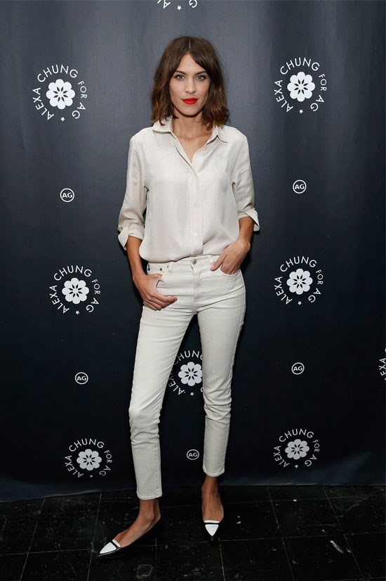 Alexa Chung For AG New York Launch Party