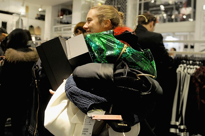 6 Slightly Stressful Scenes Of Chaos From Balmain X H&M