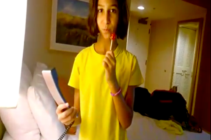Teenage Girl Literally Doesn't Know What To Do With A Landline Phone