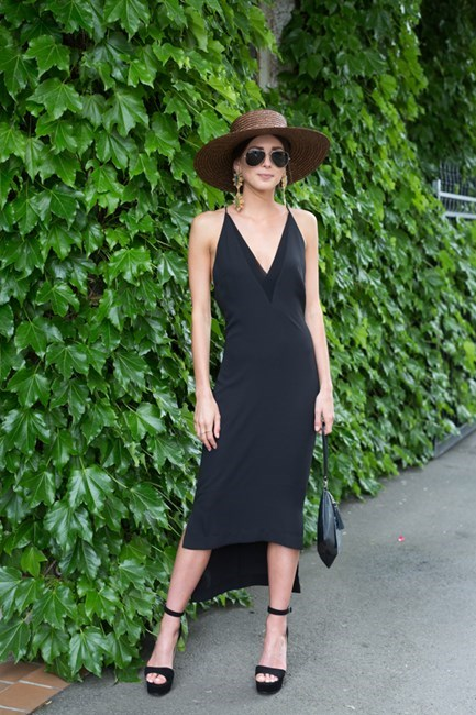Name: Kathryn Kelly Outfit: Dion Lee,Tony Bianco shoes, hat 66 the Label Race day: Stakes Day 2015 Location: Flemington, Melbourne
