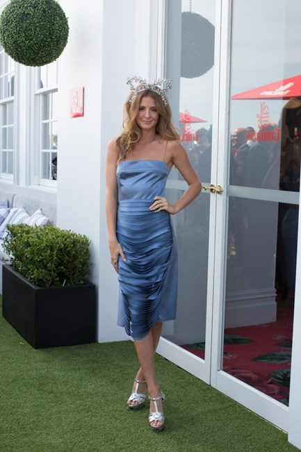 Name: Millie Mackintosh Outfit: Dion Lee dress Race day: Melbourne Cup 2015 Location: Flemington, Melbourne