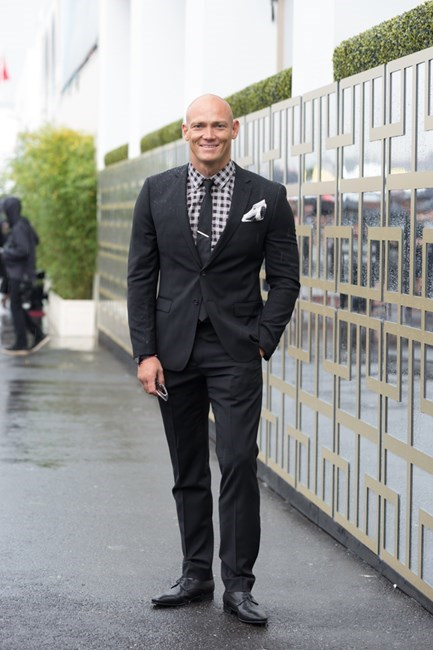 Name: Michael Klim Outfit: Aquila Race day: Derby Day 2015 Location: Melbourne