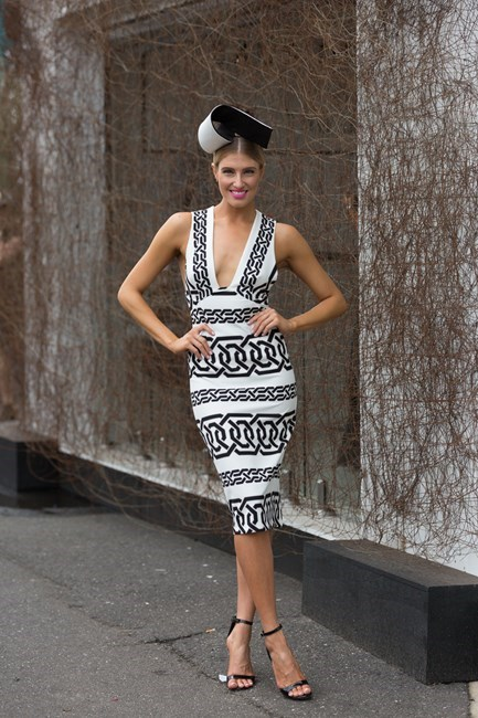 Name: Erin Holland Race day: Derby Day 2015 Location: Melbourne