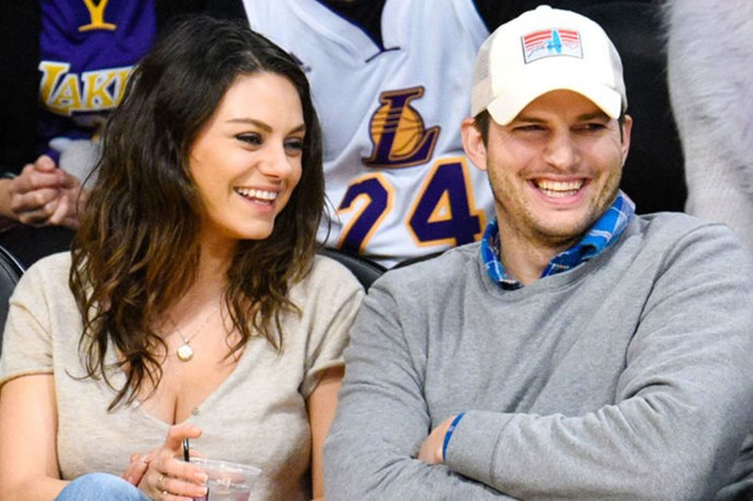 Ashton Kutcher Sneakily Posted A Cute Pic Of His Daughter