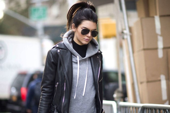 Kendall Jenner, Adriana Lima And Martha Hunt Model Angel Off-Duty Look