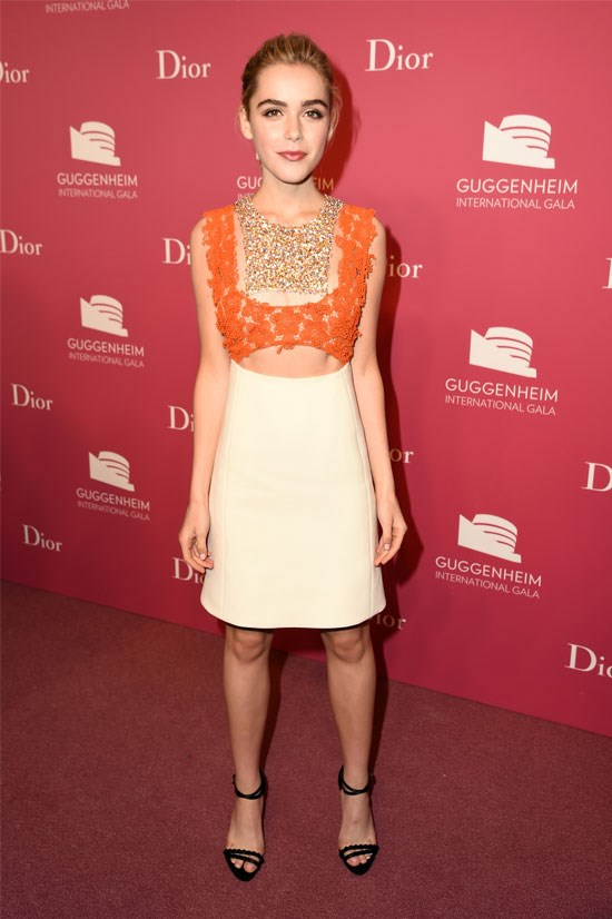 <strong>Kiernan Shipka</strong> <br> <br> Kiernan Shipka, who recently turned 16, is best known for her role as Sally Draper in <em>Mad Men</em>. It's safe to say she'll be making a name for herself in fashion too.