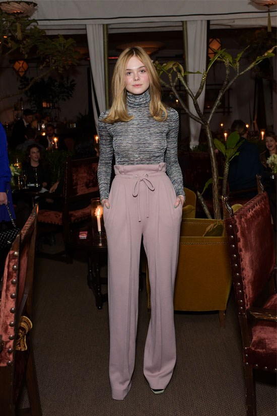 <strong>Elle Fanning</strong> <br> <br> Elle, who turned 17 this year, is blossoming before our eyes.