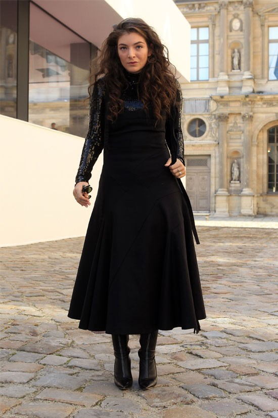 <strong>Lorde</strong> <br> <br> Lorde, 19, is becoming fashion royalty (unintentional reference to her song Royals).