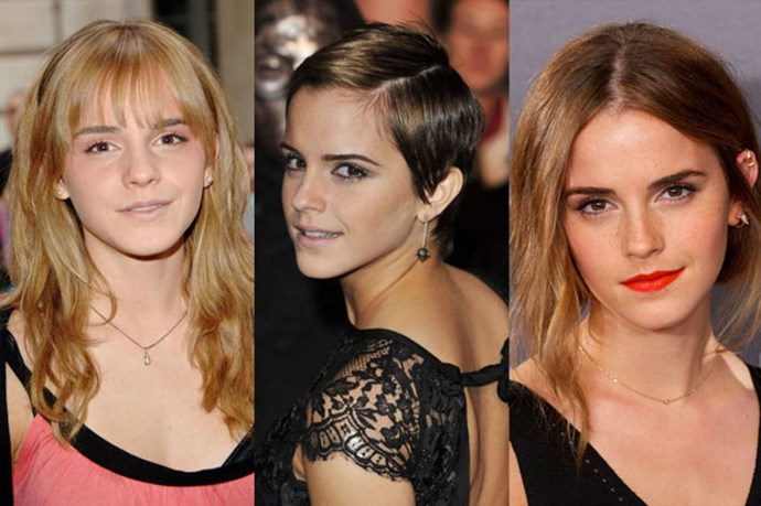 Emma Watson's Beauty Evolution In 30 Photos
