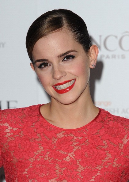 FEBRUARY 2012 At the Lancome Pre-BAFTA party. GETTY